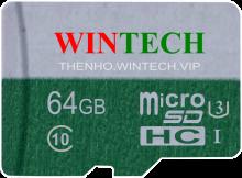 Thẻ nhớ SD WinTech 16GB Class 10